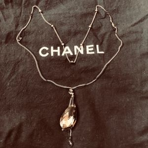 Express Necklace w/ Crystal